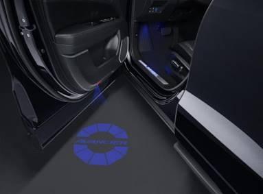 前车门投影灯
